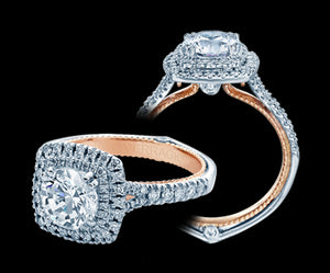 Verragio Couture Round Diamond Engagement Ring (0.45 CTW)