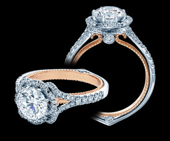 Verragio Couture Round Diamond Engagement Ring (0.40 CTW)