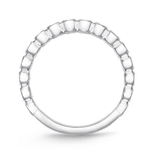 Load image into Gallery viewer, Memoire Toujours White Gold Round Bands (0.29 ctw)