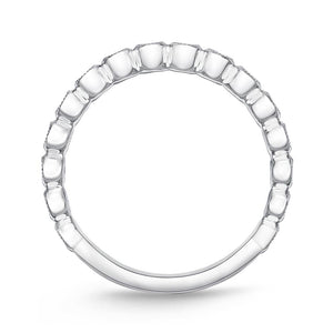Memoire Toujours White Gold Round Bands (0.29 ctw)