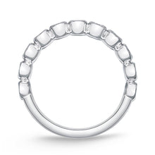 Load image into Gallery viewer, Memoire Toujours White Gold Round Bands (0.51 ctw)
