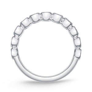 Memoire Toujours White Gold Round Bands (0.51 ctw)