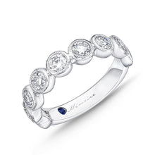 Load image into Gallery viewer, Memoire Toujours White Gold Round Bands (1.47 ctw)