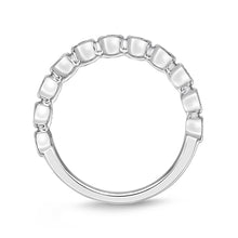 Load image into Gallery viewer, Memoire Toujours White Gold Round Bands (0.26 ctw)