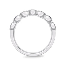 Load image into Gallery viewer, Memoire Toujours White Gold Round Bands (0.43 ctw)