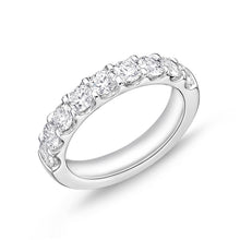 Load image into Gallery viewer, Forevermark Odessa White Gold Round Bands (1.59 ctw)