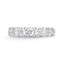 Load image into Gallery viewer, Forevermark Odessa White Gold Round Bands (2.03 ctw)