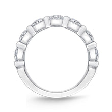 Load image into Gallery viewer, Forevermark Precious Prong White Gold Round Bands (1.51 ctw)