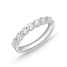 Load image into Gallery viewer, Forevermark Petite Prong White Gold Round Bands (1.08 ctw)