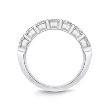 Load image into Gallery viewer, Forevermark Petite Prong White Gold Round Bands (1.51 ctw)