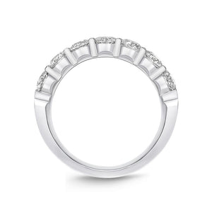 Forevermark Petite Prong White Gold Round Bands (1.51 ctw)
