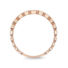 Load image into Gallery viewer, Memoire Stack'em Up Rose Gold Round Bands|Rings (0.28 ctw)