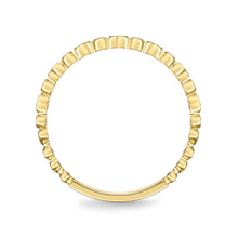Load image into Gallery viewer, Memoire Stack'em Up Yellow Gold Round Bands|Rings (0.05 ctw)