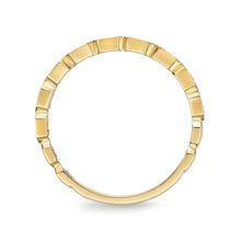 Load image into Gallery viewer, Memoire Stack'em Up Yellow Gold Round Bands|Rings (0.08 ctw)