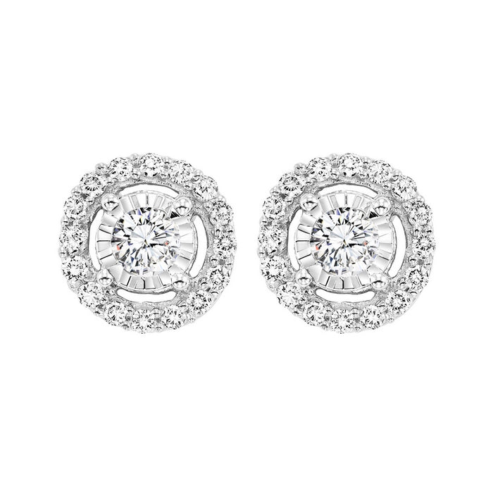 14K Diamond Earrings (0.25 CTW)