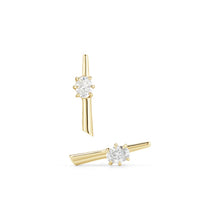 Load image into Gallery viewer, Jade Trau by Forevermark Rae Studs (0.30 CTW)