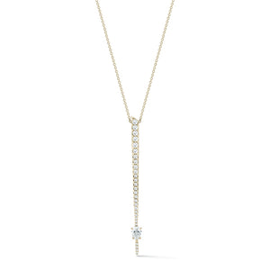 Jade Trau by Forevermark Rae Pave' Pendant (0.70 CTW)