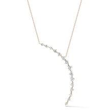 Load image into Gallery viewer, Jade Trau by Forevermark Crescent Pendant (1.23 CTW)