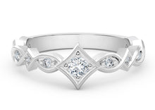 Load image into Gallery viewer, The Forevermark Tribute™ Collection Unique Diamond Ring