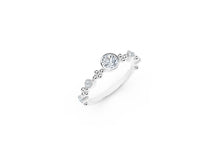 Load image into Gallery viewer, The Forevermark Tribute™ Collection Feminine Diamond Ring