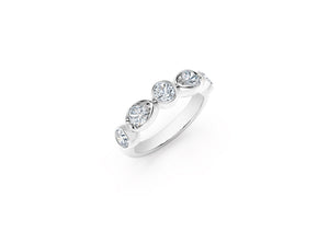 The Forevermark Tribute™ Collection Stackable Fashion Ring