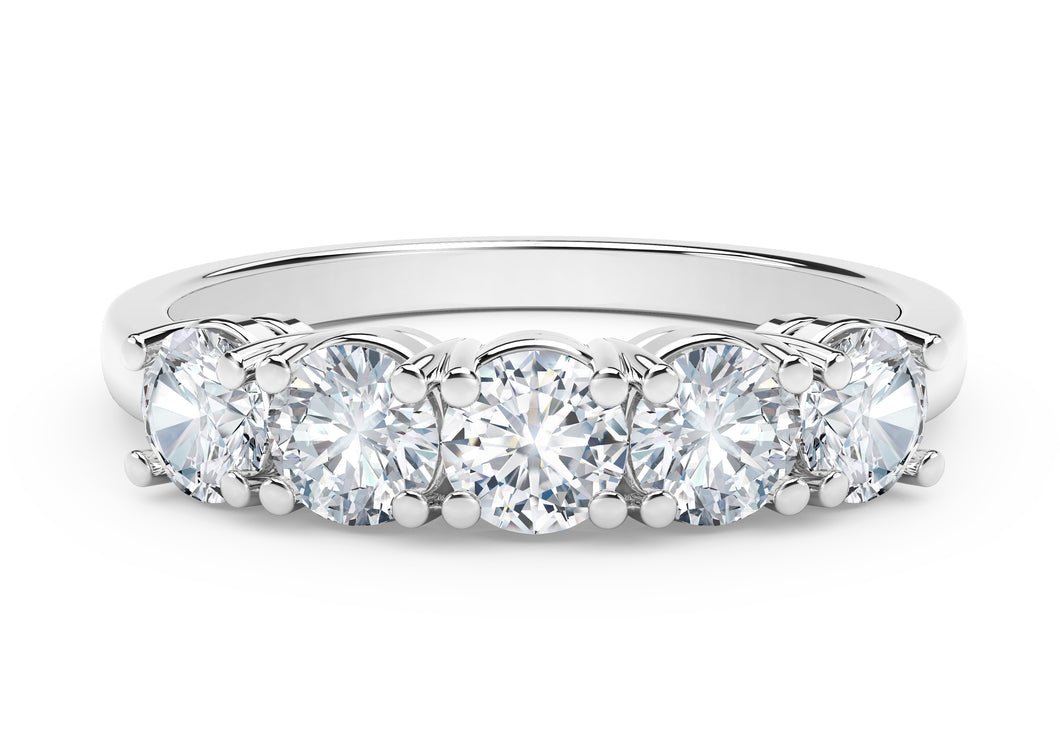 The Forevermark Tribute™ Collection Round Diamond Ring