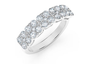 The Forevermark Tribute™ Collection Diamond Anniversary Band