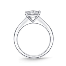 Load image into Gallery viewer, Memoire Diamond Bouquets White Gold Round Engagement Rings (0.63 ctw)
