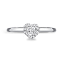 Load image into Gallery viewer, Memoire Stack'em Up White Gold Round Diamond Rings (0.07 ctw)