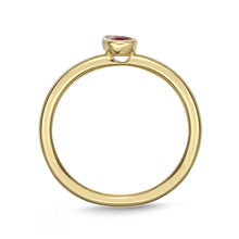 Load image into Gallery viewer, Memoire Stack'em Up Yellow Gold Diamond Rings