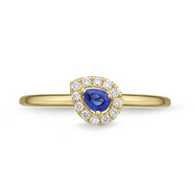 Load image into Gallery viewer, Memoire Stack'em Up Yellow Gold Round Diamond Rings (0.08 ctw)
