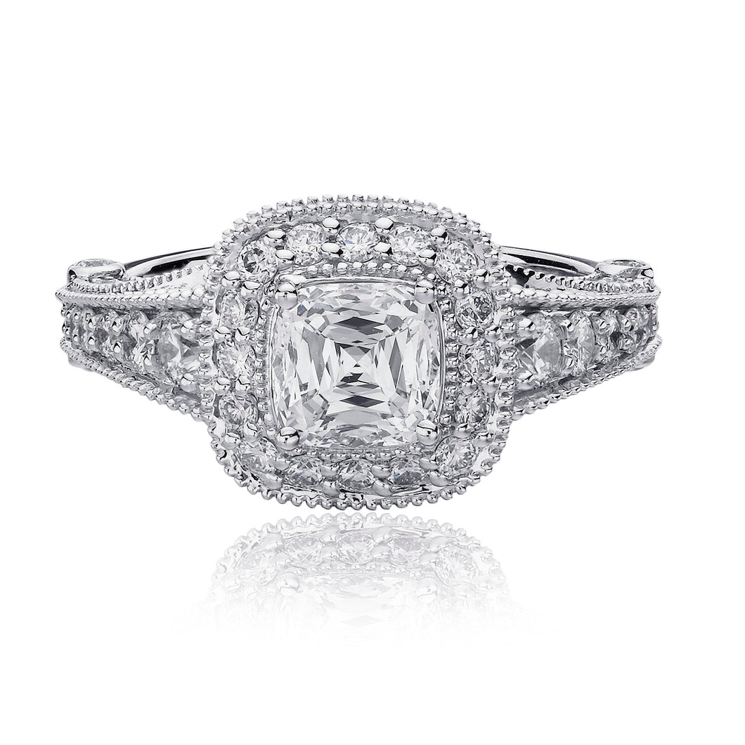 Christopher Designs Crisscut Engagement Ring (1.14 CTW)