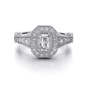 Christopher Designs Crisscut Engagement Ring (1.25 CTW)