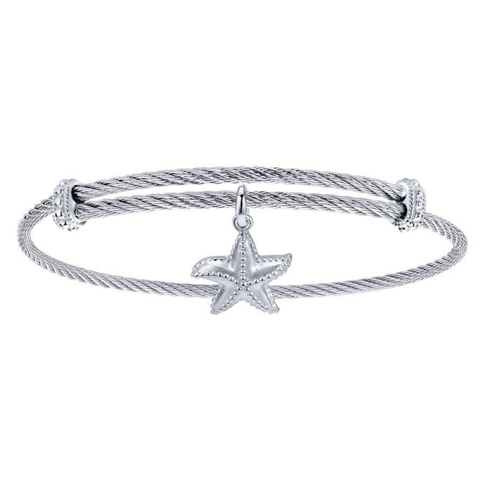 Gabriel & Co. Steel My Heart Bracelet