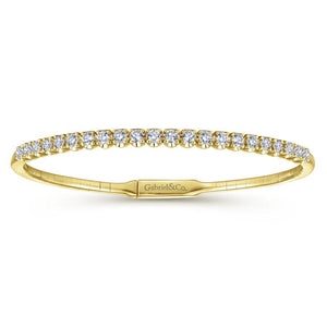 Gabriel & Co. Demure Yellow Gold Bracelet (1.17 CTW)