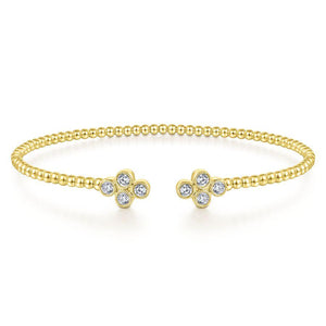 Gabriel & Co. Bujukan Yellow Gold Bracelet (0.41 CTW)