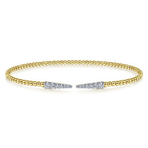 Gabriel & Co. Bujukan Yellow Gold Bracelet (0.26 CTW)