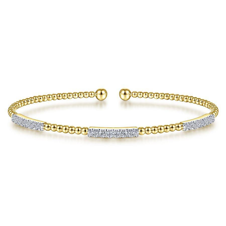 Gabriel & Co. Bujukan Yellow Gold Bracelet (0.46 CTW)