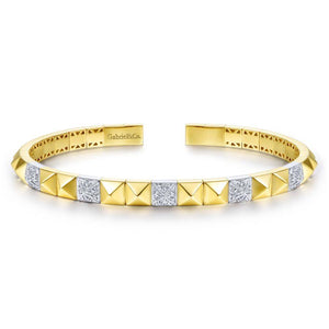 Gabriel & Co. Demure Yellow Gold Bracelet (0.25 CTW)