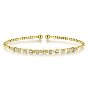 Gabriel & Co. Bujukan Yellow Gold Bracelet (0.33 CTW)