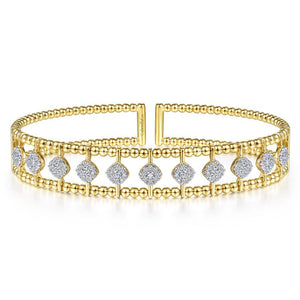 Gabriel & Co. Bujukan Yellow Gold Bracelet (0.73 CTW)