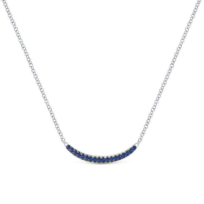 Gabriel & Co. Contemporary Sterling Silver Necklace
