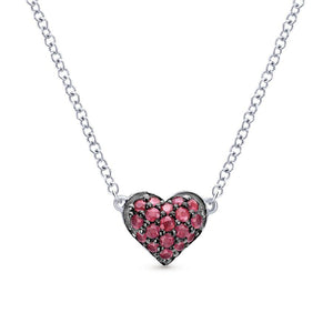 Gabriel & Co. Eternal Love Sterling Silver Necklace
