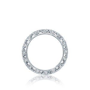 Tacori Sculpted Crescent Diamond Wedding Band (1 CTW)