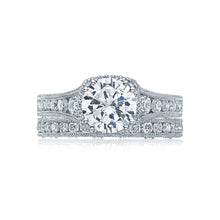 Load image into Gallery viewer, Tacori Reverse Crescent Round Diamond Engagement Ring (0.8 CTW)