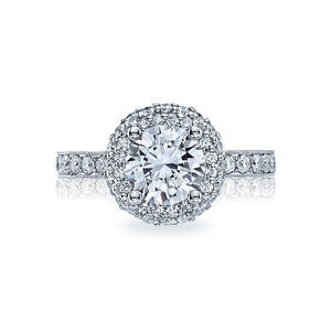 Tacori Blooming Beauties Round Diamond Engagement Ring (0.9 CTW)