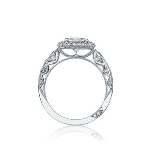 Tacori Blooming Beauties Round Diamond Engagement Ring (1.02 CTW)