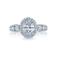 Load image into Gallery viewer, Tacori Blooming Beauties Oval Diamond Engagement Ring (1.06 CTW)