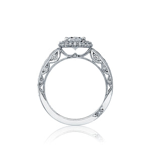 Tacori Blooming Beauties Oval Diamond Engagement Ring (1.06 CTW)