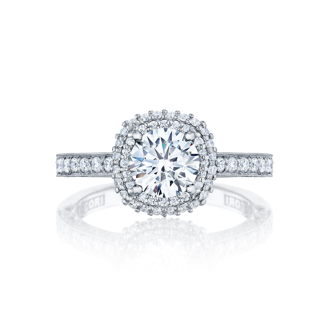 Tacori Blooming Beauties Round Diamond Engagement Ring (0.61 CTW)
